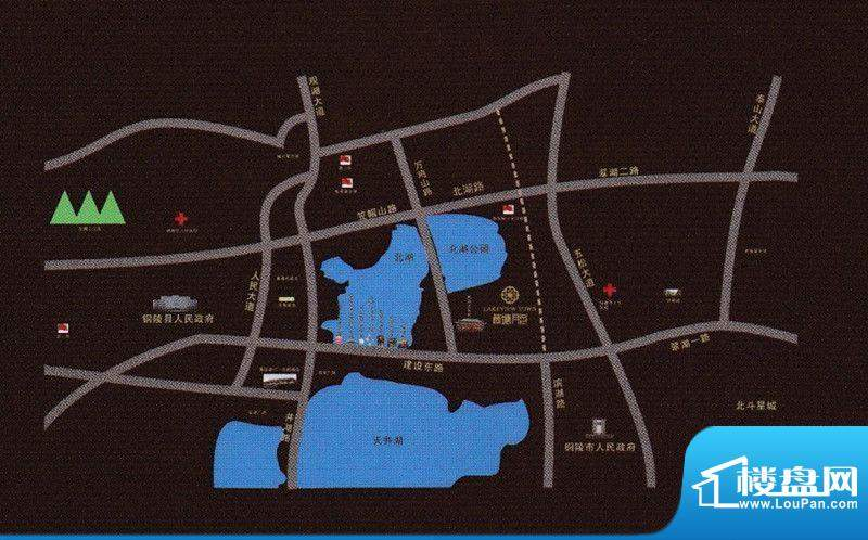 荷塘月色交通图