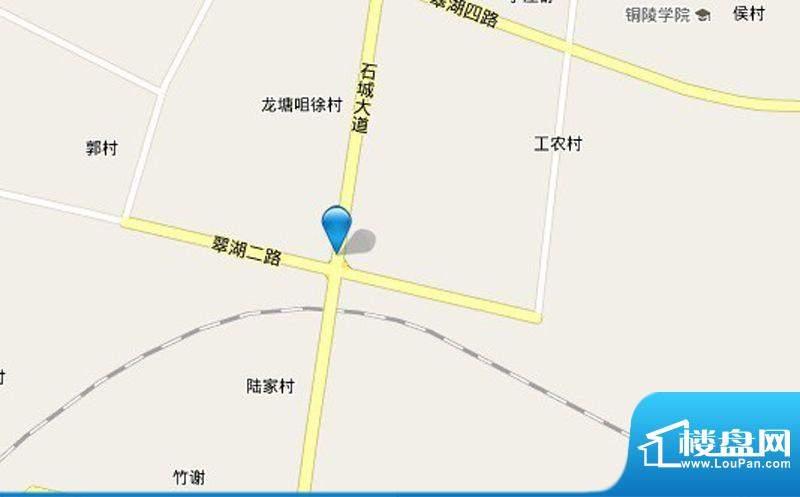 福景东方城交通图