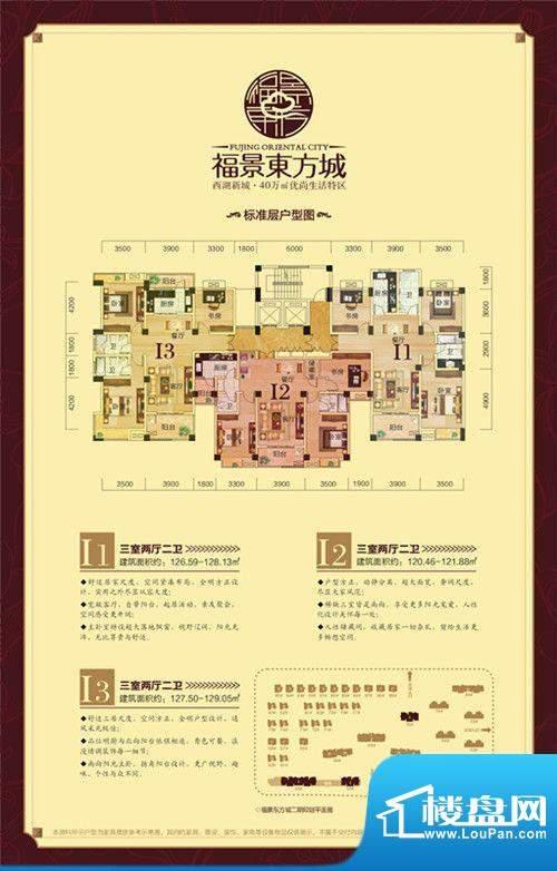 福景东方城户型置业面积:0.00m平米