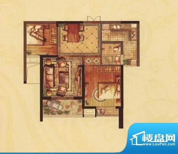 铜都公馆玲珑寓B、C面积:92.00m平米