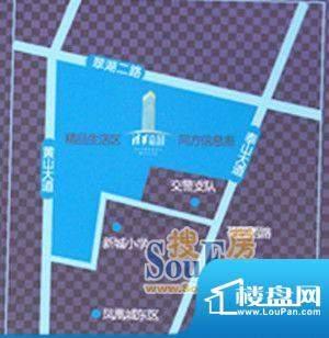 清华嘉园区位图