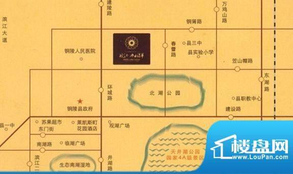 皖江水木清华交通图