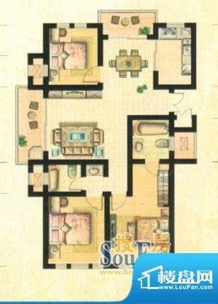 皖江水木清华3房2厅面积:0.00m平米