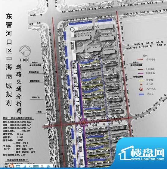 中海嘉园东营市中海嘉园交通图
