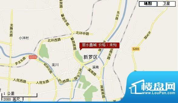丽水鑫城交通图