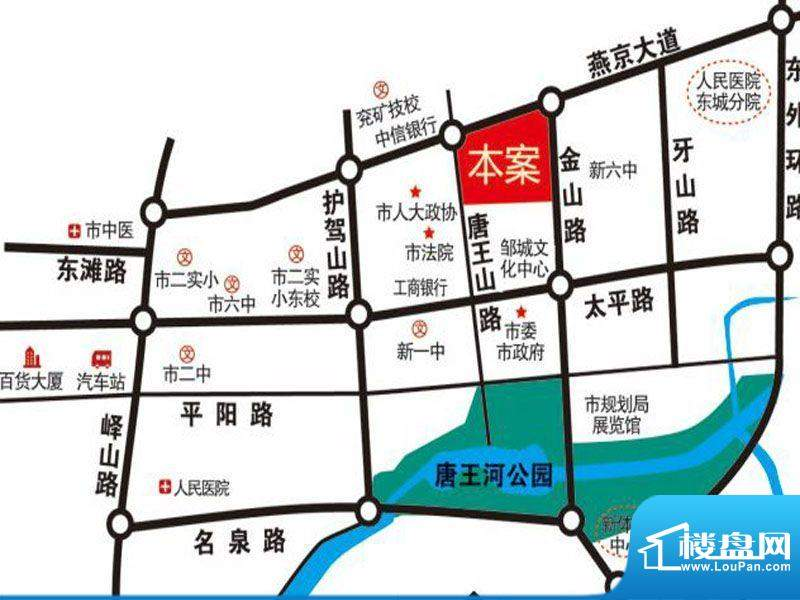 世纪国宏交通图