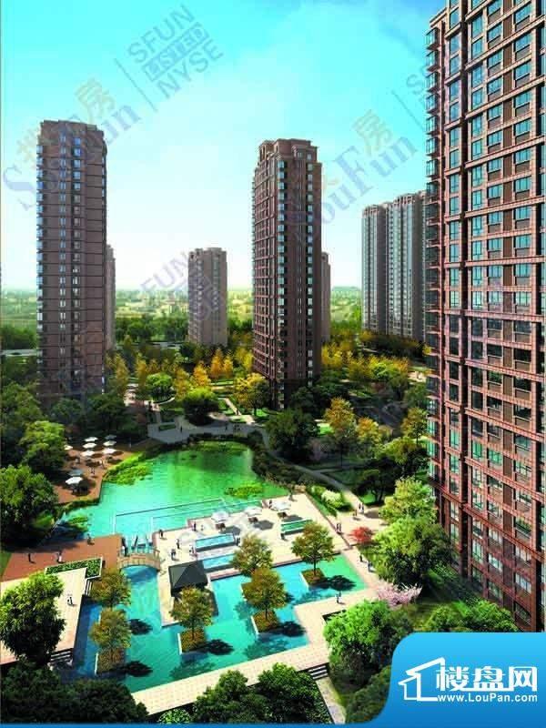 太阳都市花园建筑立面效果图