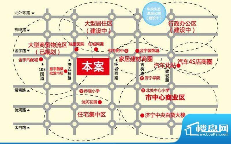 亿丰时代广场交通图