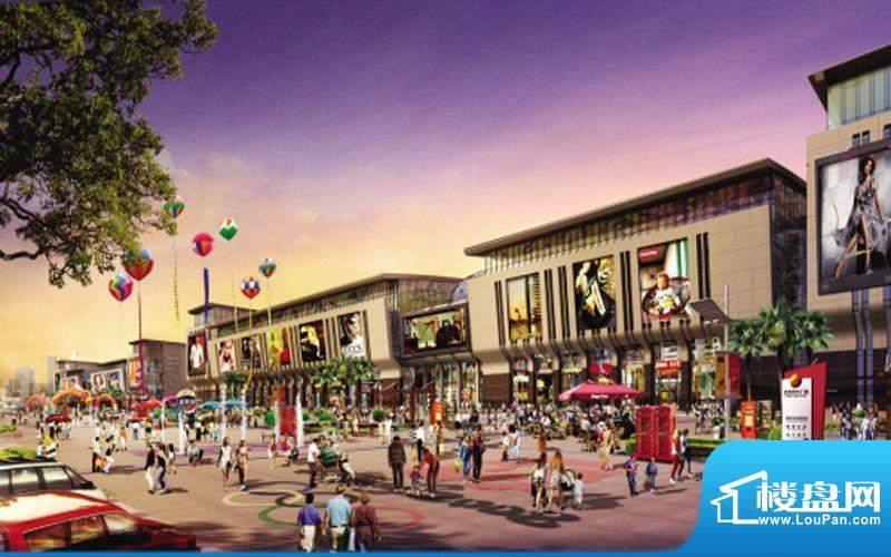亿丰时代广场实景图
