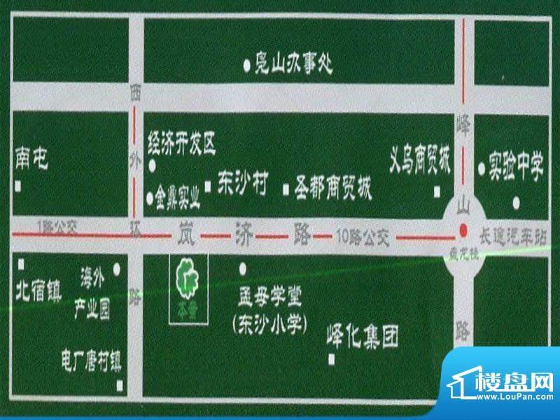 名鉴田园交通图