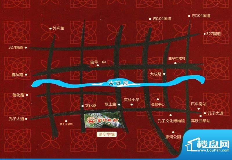 富邦新都交通图
