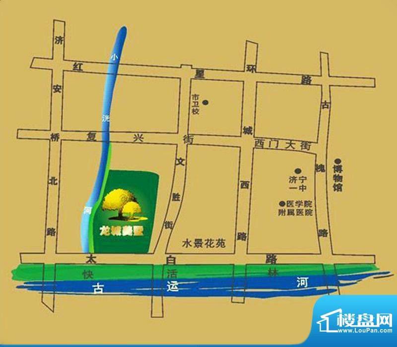 龙城美墅交通图