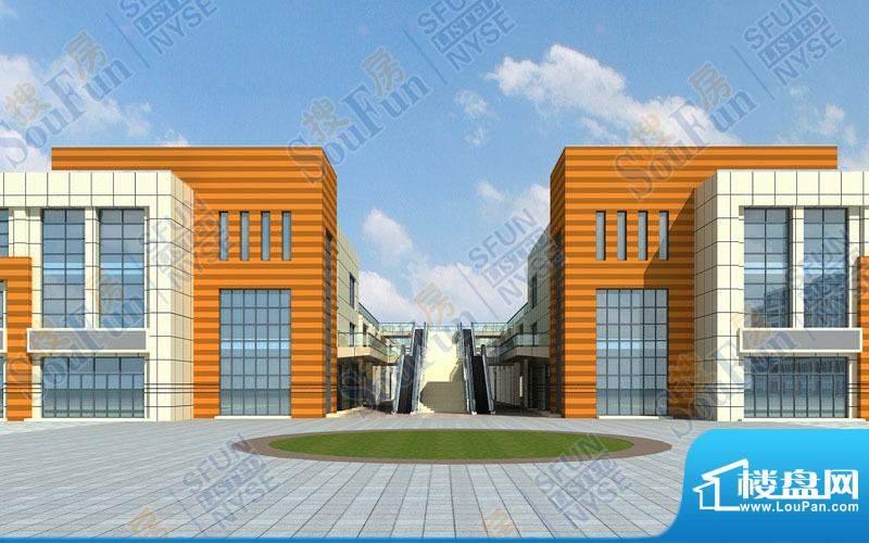 微山湖建材装饰城效果图