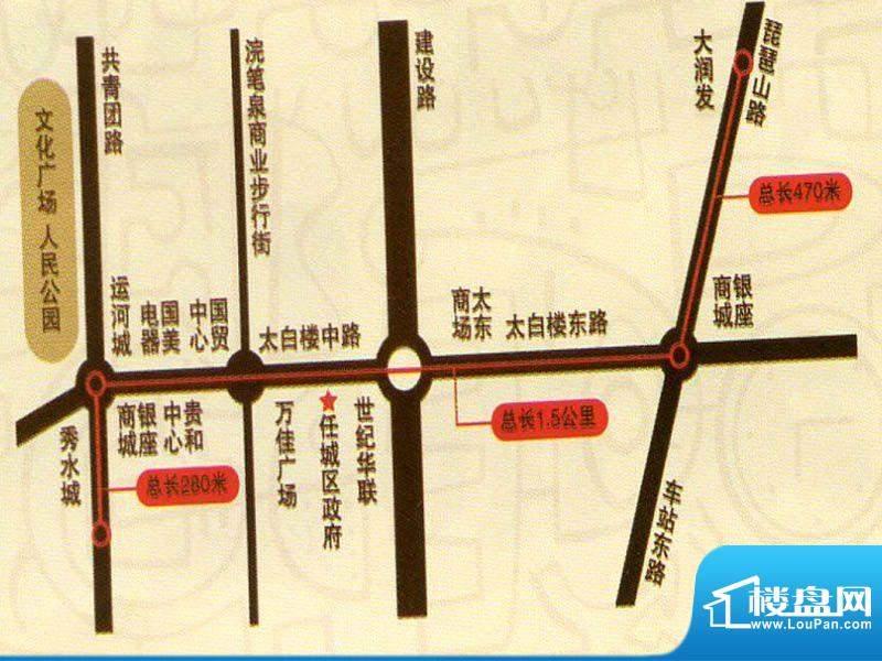 宗圣·星光大道交通图