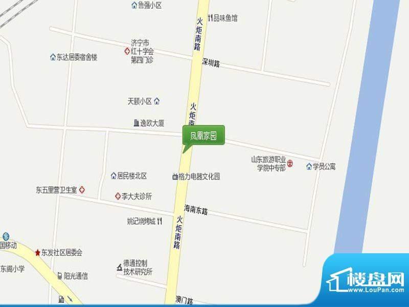 凤凰家园交通图