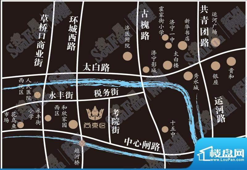 尚东区交通图
