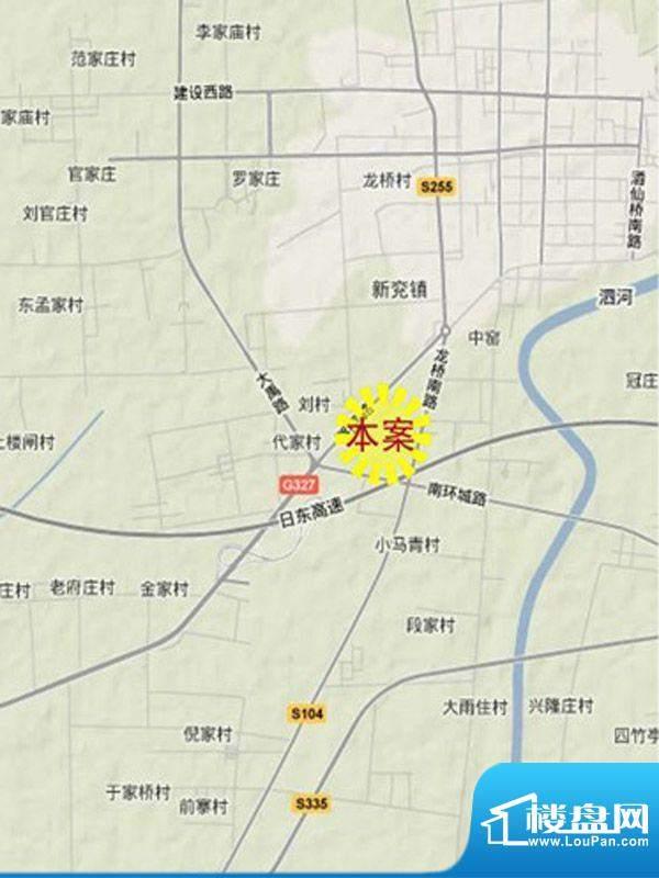 永丰国际商贸城交通图