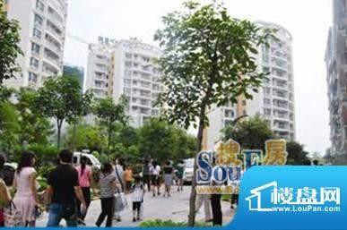 弘景·金色蓝湾新天地风情商业街效果图