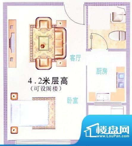 时代华庭户型图4 面积:0.00m平米
