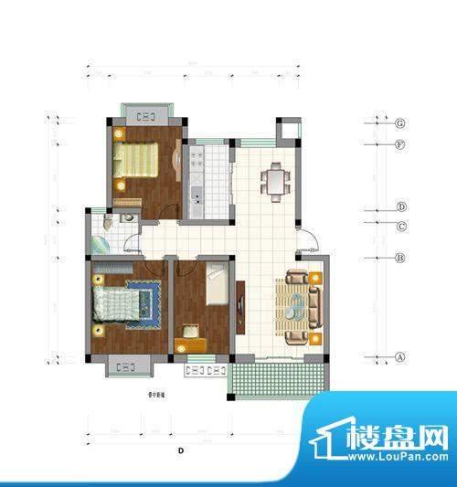 中建·城市花园户型面积:0.00m平米