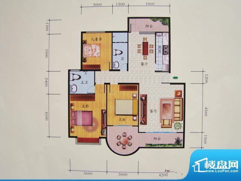 富林双泉佳园户型图面积:0.00m平米