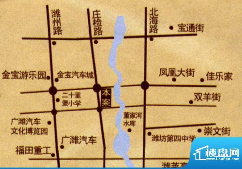 天润清源交通图