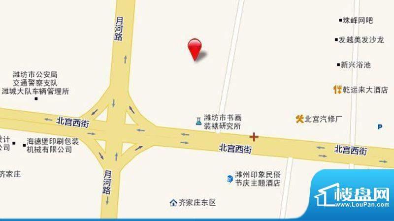 圣基金碧广场位置图