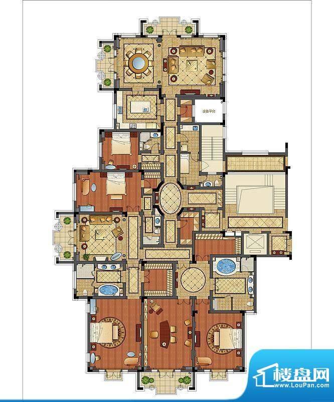 洛社上院九号楼平面图