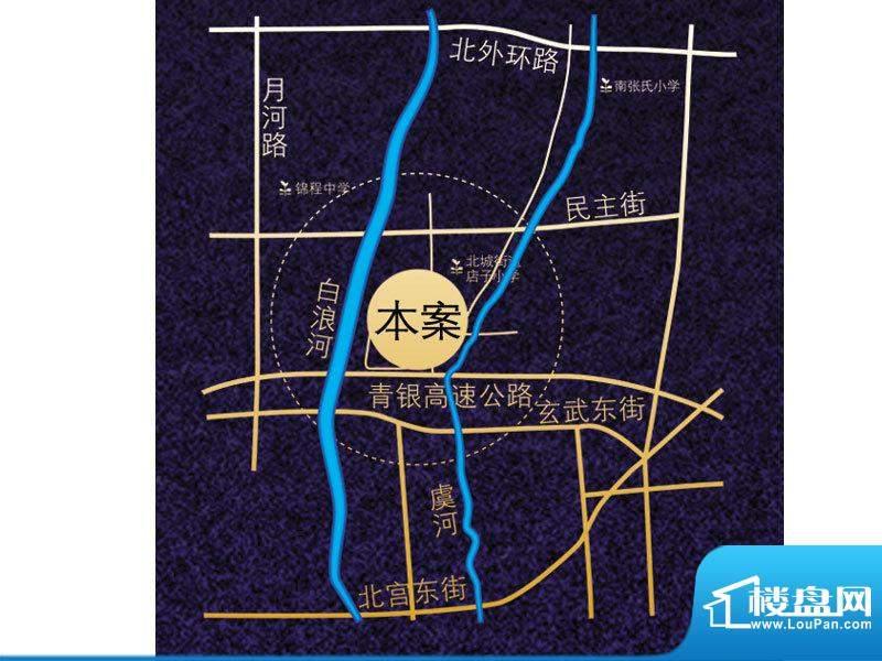 虞河小镇位置图