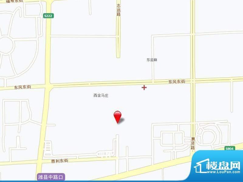 金宸公馆交通图