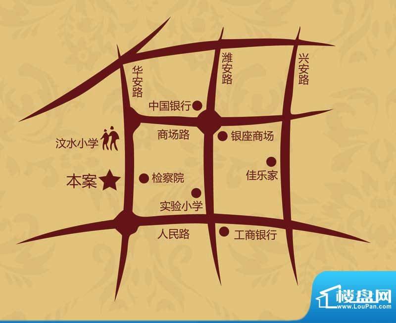 青云丹桂园位置图