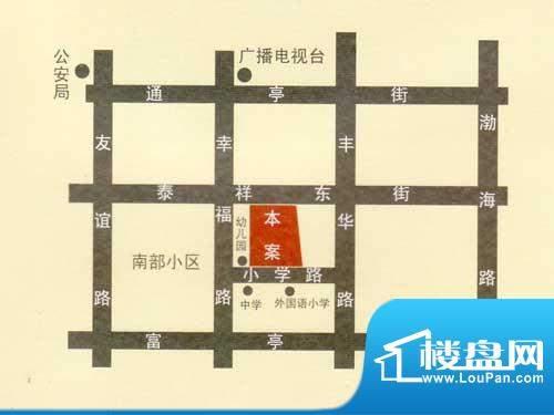 纳福馨城交通图
