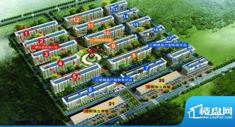 纳福馨城效果图