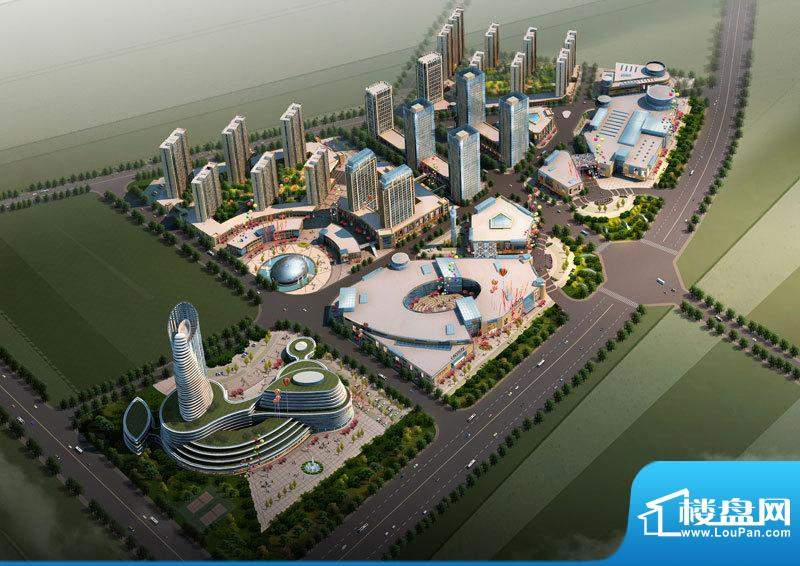 盘锦世贸中心交通图