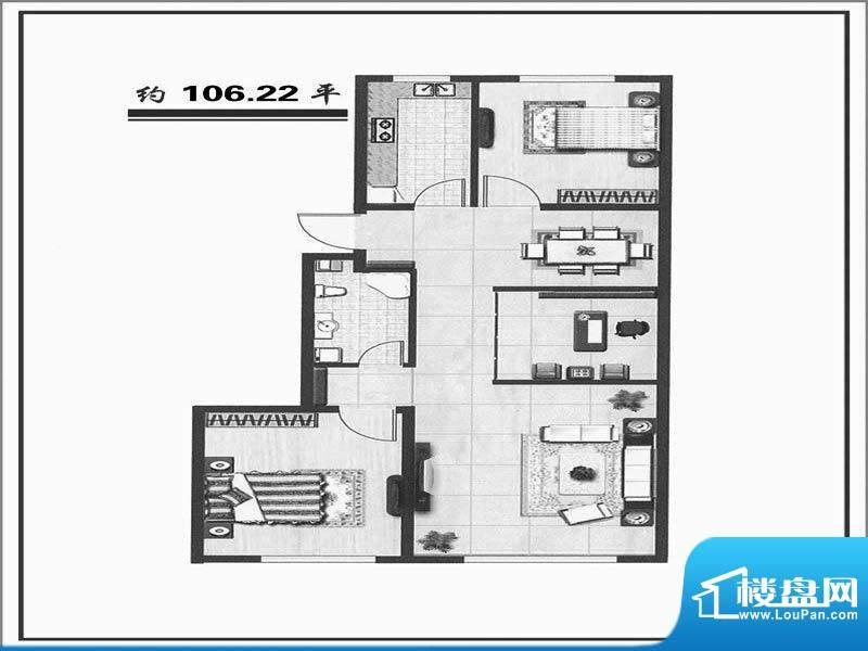 天成家园106(106.22面积:106.00m平米
