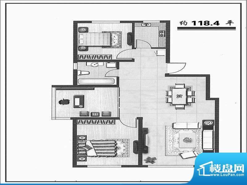 天成家园116西(118.面积:116.00m平米