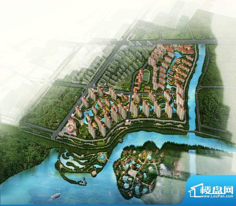 中珠·辽河新城效果图