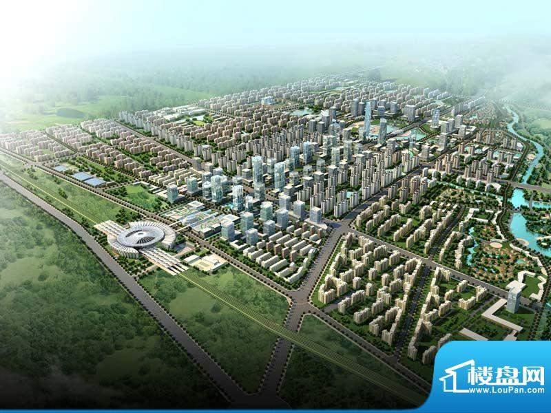 中珠·辽河新城实景图