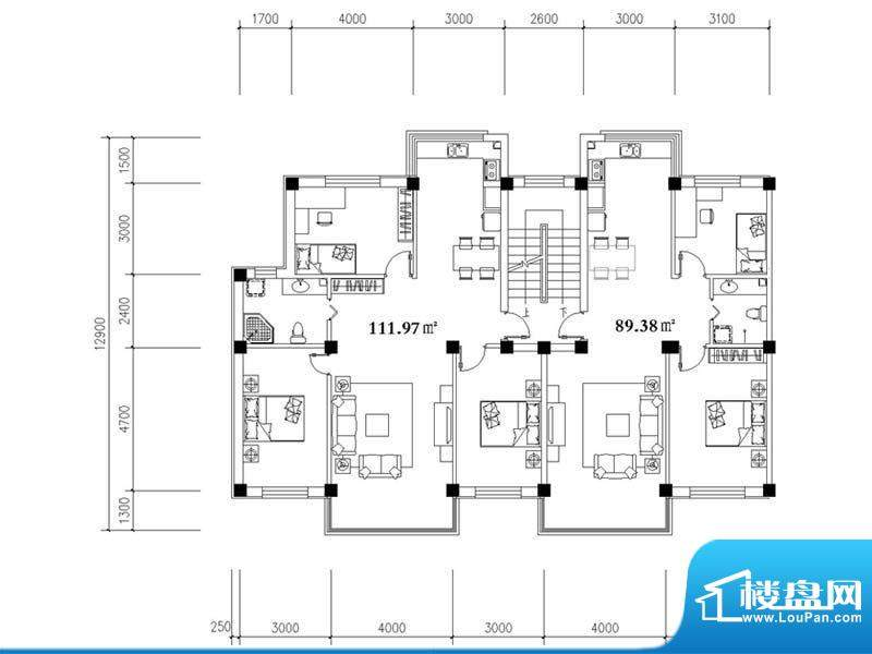鼎泽·壹品高升4#楼面积:0.00m平米