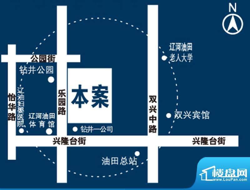 馨悦小区交通图