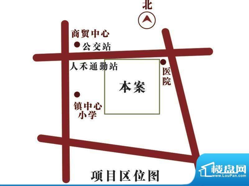 人禾金华苑交通图