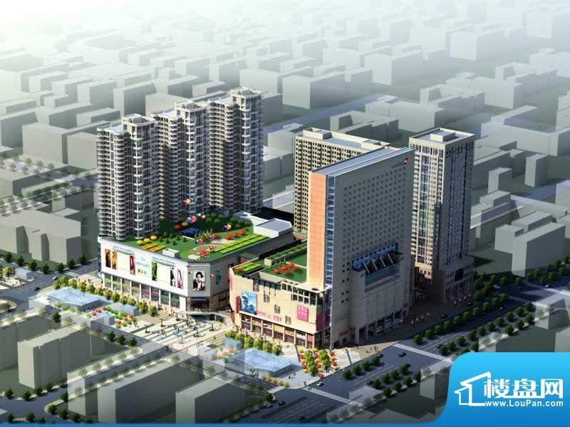 大商城市广场实景图