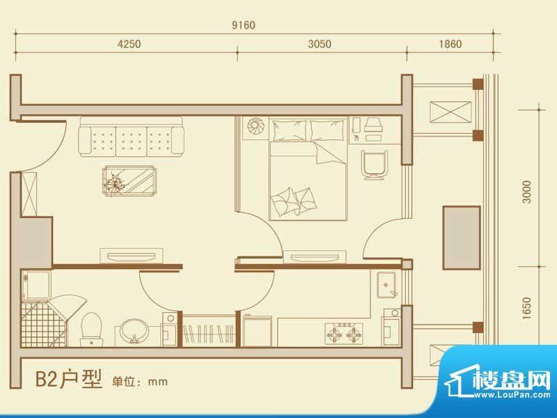 大商城市广场111-52面积:52.04m平米