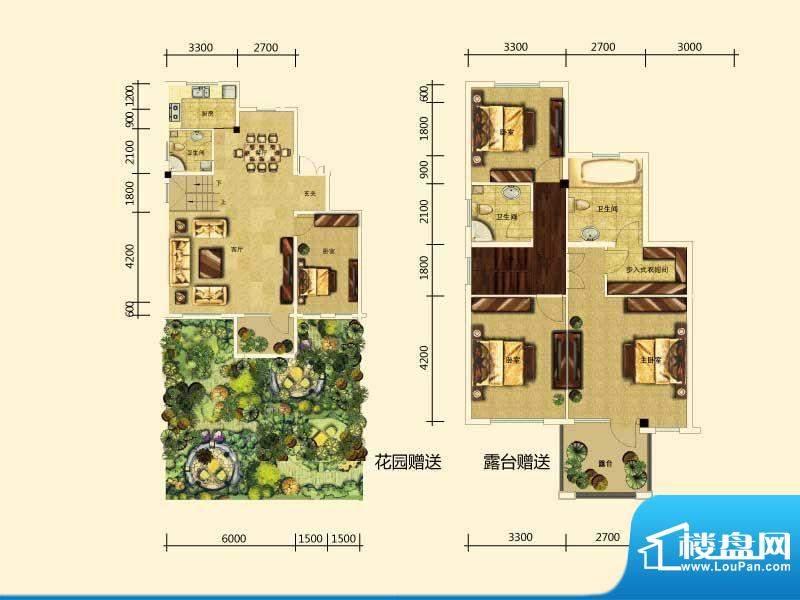 筑景·橡树湾洋房 4面积:179.00m平米
