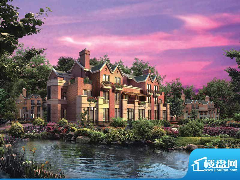 筑景·橡树湾双拼、联排的外立面颜色