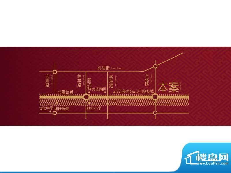 长湖新城交通图