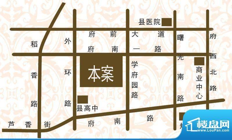 学府名城交通图