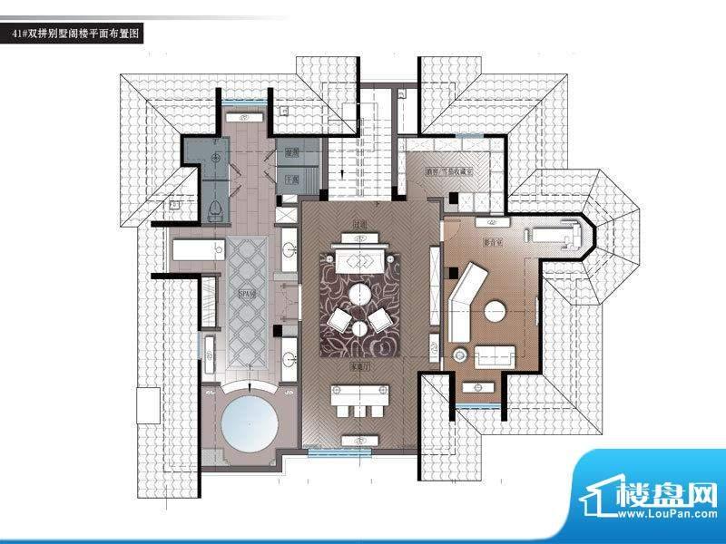 美的城别墅面积:0.00m平米