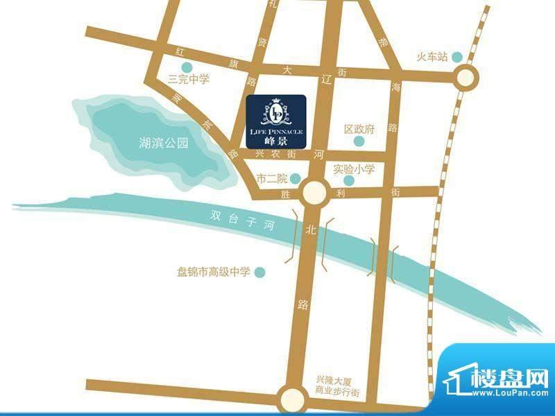 湖滨·四季城三期交通图