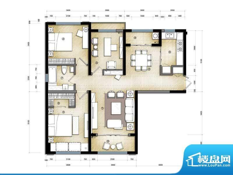 滨海公寓交通图